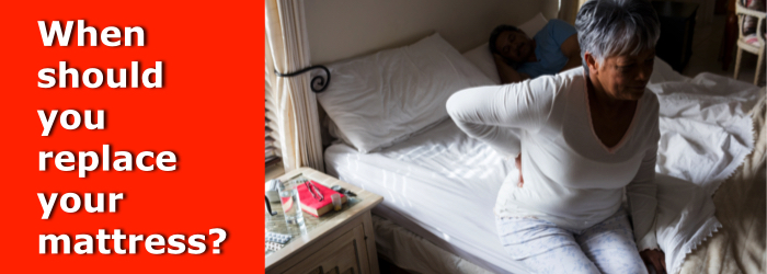 When should you replace your mattress
