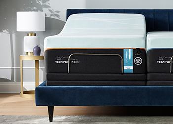 Tempur-LuxeBreeze Firm in Styled Room
