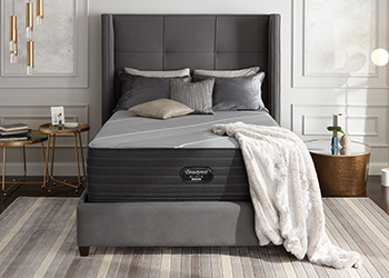 firm mattress in styled room