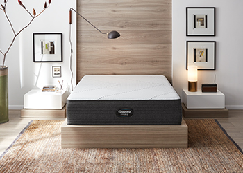 brx1000-ip plush mattress in styled room