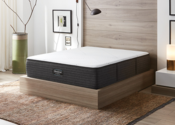 brx1000-ip extra firm mattress in styled room