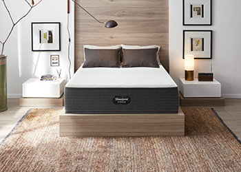 mattress in styled room