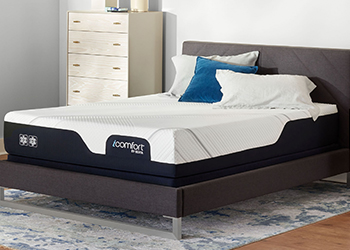 cf2000 mattress in styled room