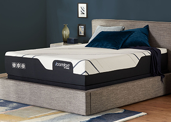 cf4000 mattress in styled room