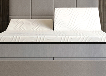 r13 mattress in styled room