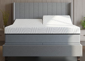 r15 mattress in styled room
