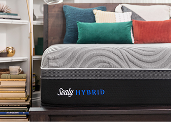 Sealy Hybrid Copper II Plush in Styled Room